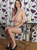 Amazing Pair Of Massive Boobies On Busty Buffy - Picture 1