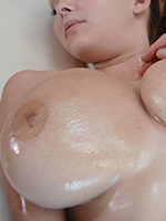 Busty Buffy Oiled Huge Boobs Pussy Fingered Sexual Massage - Picture 5