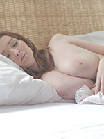 Incredibly Busty Teen Buffy Will Please You With Her Tits - Picture 1