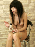 Petite Teen Kaira Shows Her Little Perky Titties - Picture 12