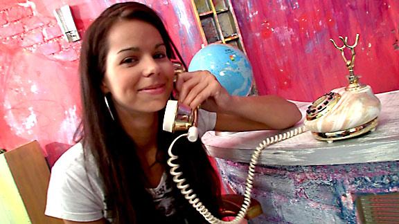 Stunning masturbation video of fresh 18 year old model Kiki