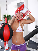Nude Work-out With 18yo Teen Sabrina - Picture 4