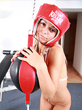 Nude Work-out With 18yo Teen Sabrina - Picture 10